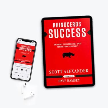 Rhinoceros Success - Audiobook + E-Book