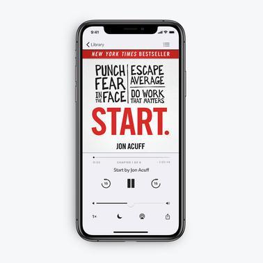 Start by Jon Acuff (Audiobook Download)