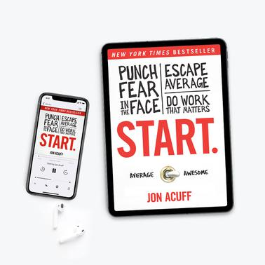 Start by Jon Acuff - Audiobook + E-Book