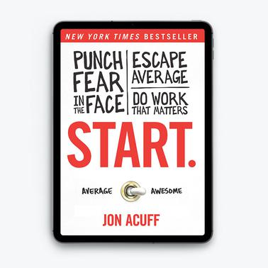 Start by Jon Acuff (eBook) - iBooks for iPad/iPhone (ePub)