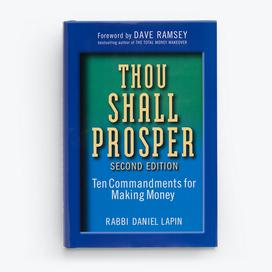 Thou Shall Prosper - Hardcover Book