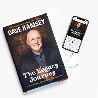 The Legacy Journey Hardcover + Audiobook (MP3 Download)