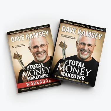 The Total Money Makeover Hardcover Book + Workbook