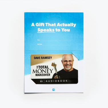 The Total Money Makeover Audiobook Gift Card