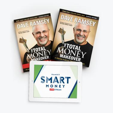 The Total Money Makeover Hardcover Book + Workbook + Free Livestream