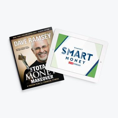 The Total Money Makeover - Hardcover Book + Free Livestream
